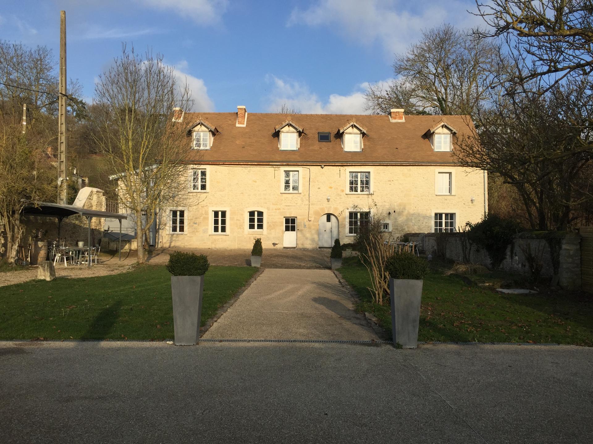La Villa du Moulin de Champie - Thiverval Davron